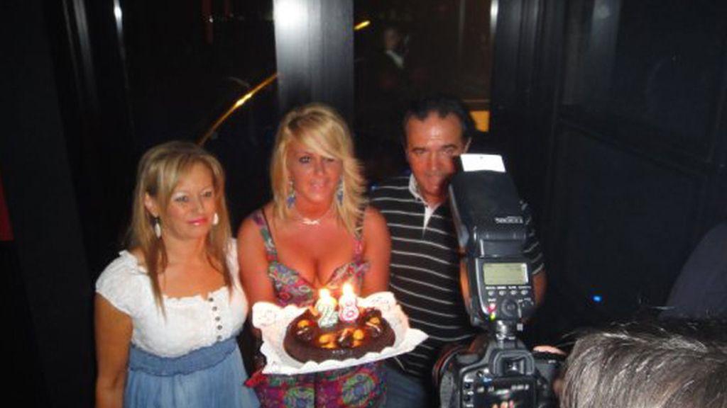 El cumpleaños de Saray