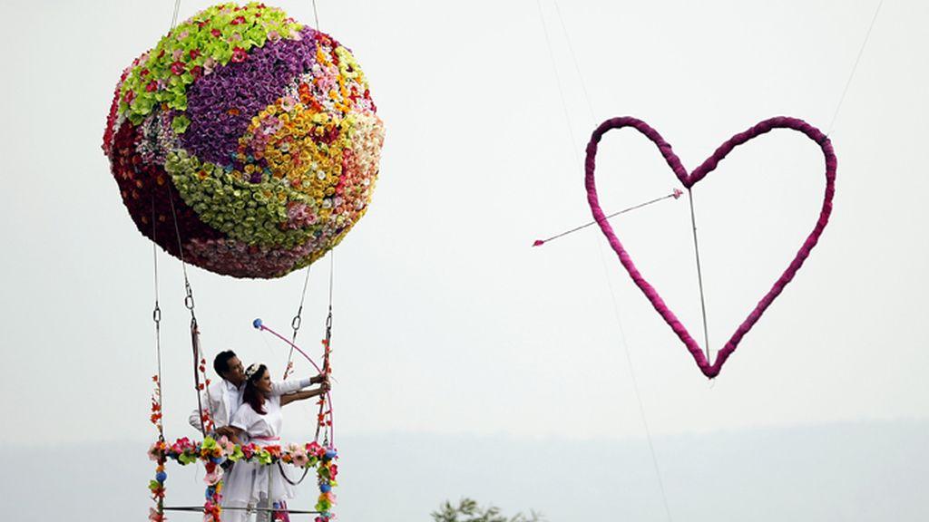 Las 'flechas' de San Valentín llegan también a Tailandia