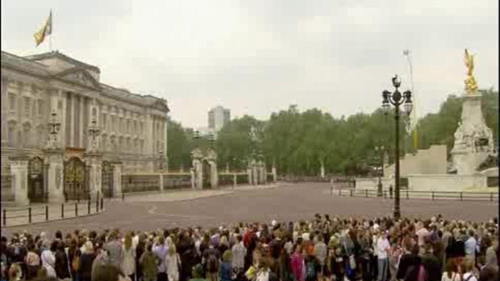 La Familia Real conquista Londres