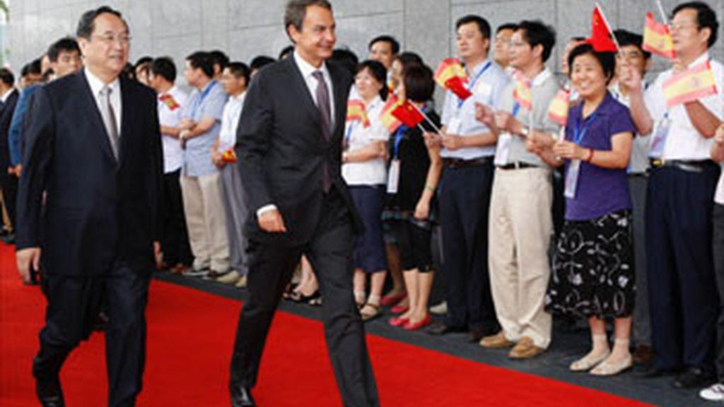 Zapatero resalta que la Expo es una gran oportunidad para poner en valor a las empresas españolas
