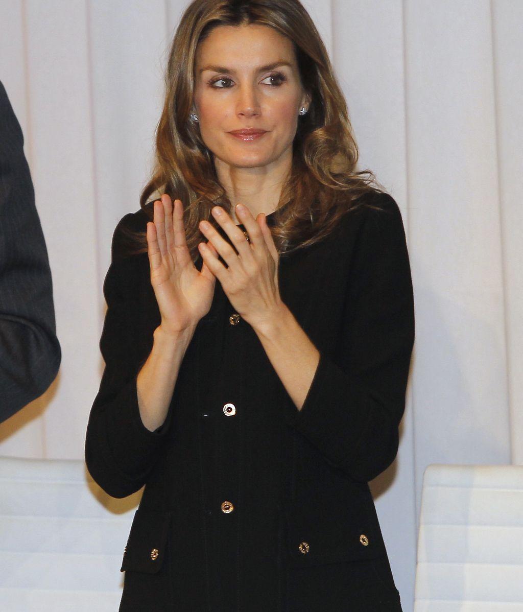 La Princesa Letizia ya no luce su anillo de compromiso