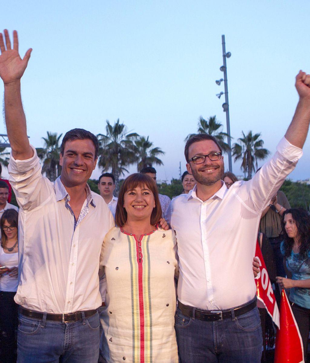 Mitin de Pedro Sánchez en Palma de Mallorca