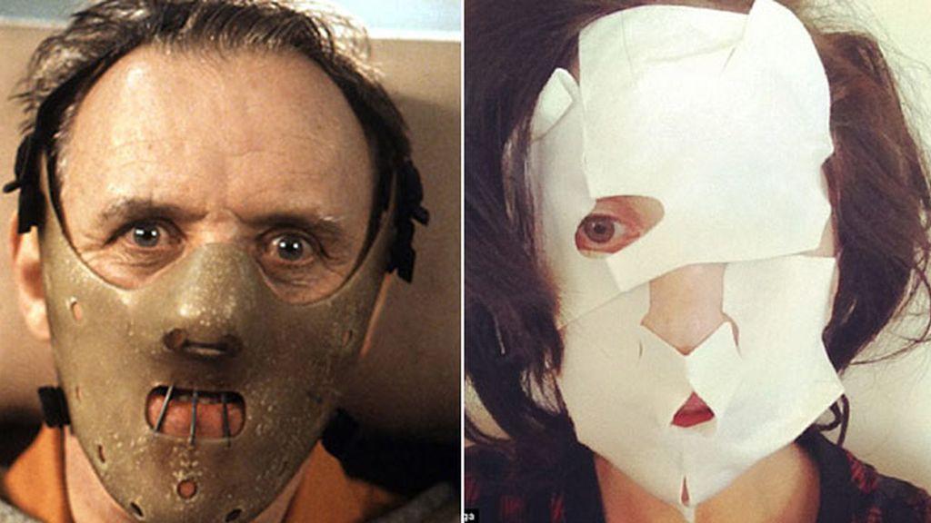 Lady Gaga, a lo Hannibal Lecter