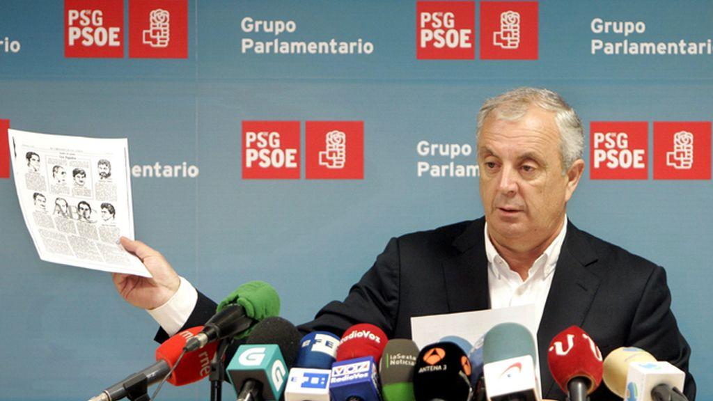"""PSdeG: Ni Feijóo ni nadie puede ser presidente """"con esta carga a sus espaldas"""""""