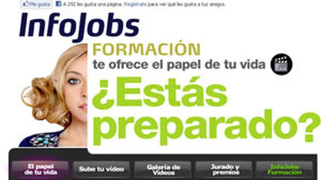 Infojobs regala un curso de dos días sólo por participar.