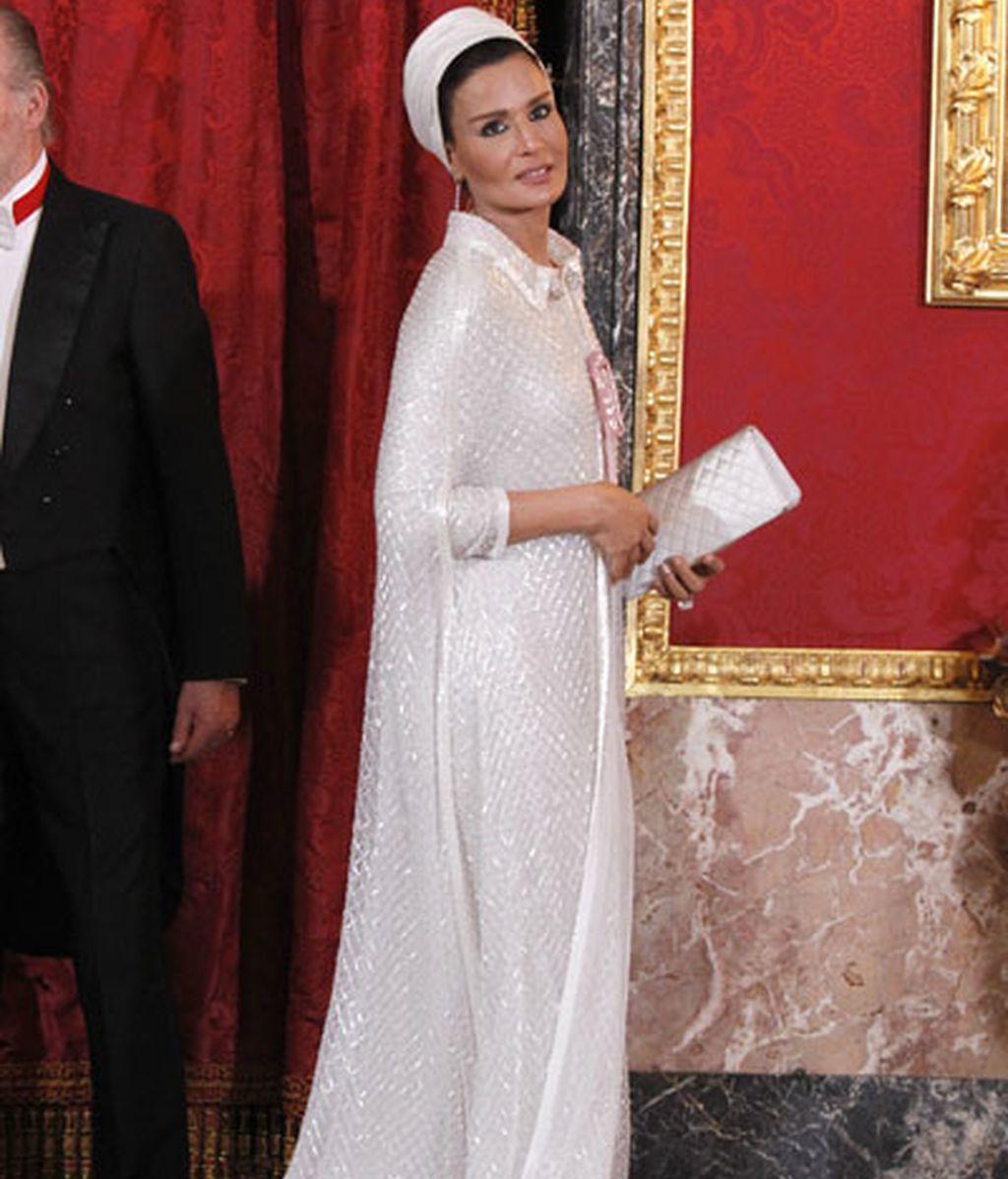 de gala en el palacio real