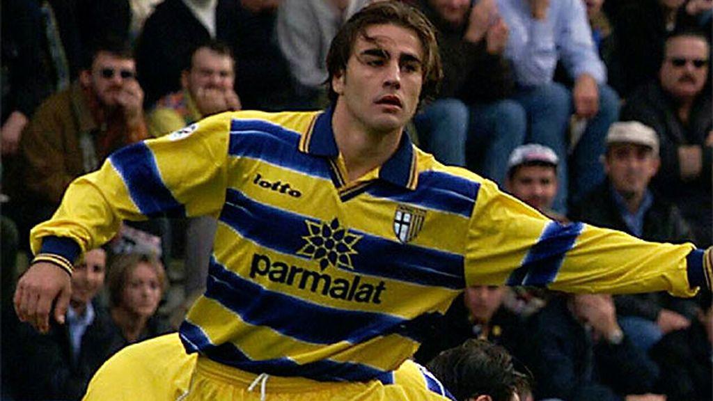 Fabio Cannavaro, un futuro Balón de Oro que ya despuntaba