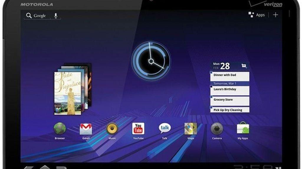 El Motorola XOOM es el primer dispositivo que sale con el nuevo sistema Android 3.0 'Honeycomb', especial para tabletas.