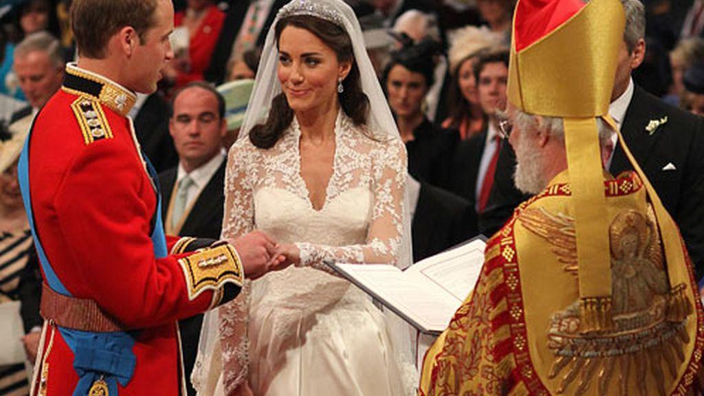 William y Kate ya son marido y mujer.