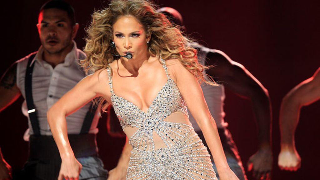 Jennifer López, derroche de glamour en Madrid