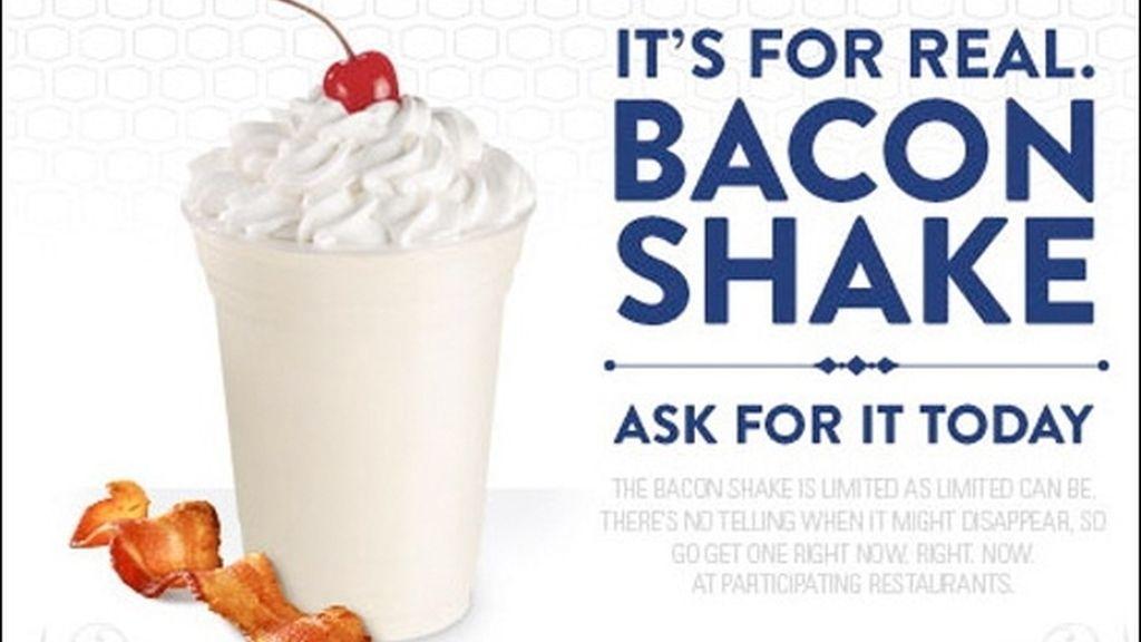 Batido de bacon, 1081 calorías