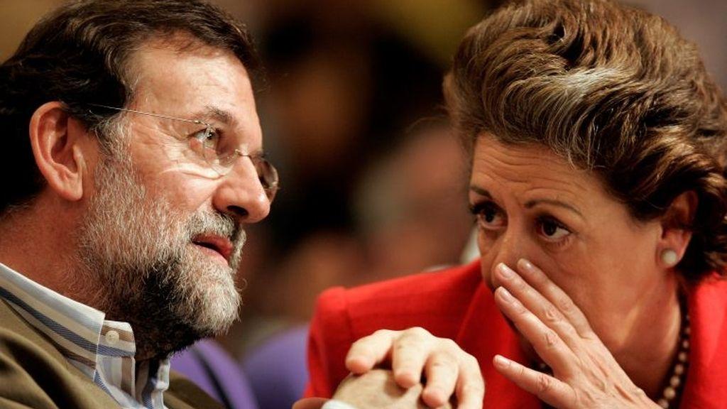 Mariano Rajoy y Rita Barberá