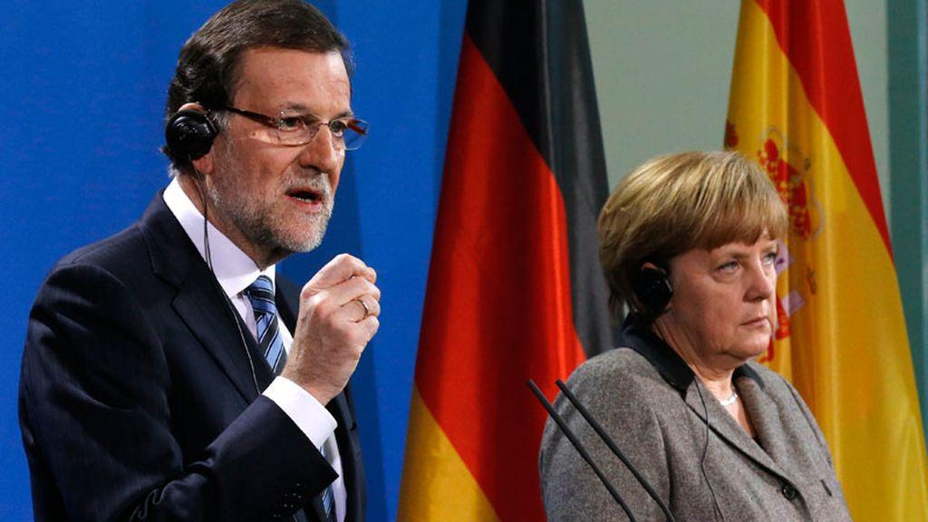 Rajoy se reúne con Merkel