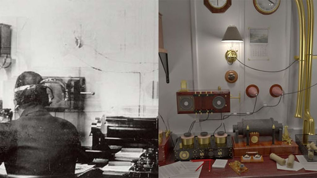 La Marconi Room, habitaciónd de las comunicaciones