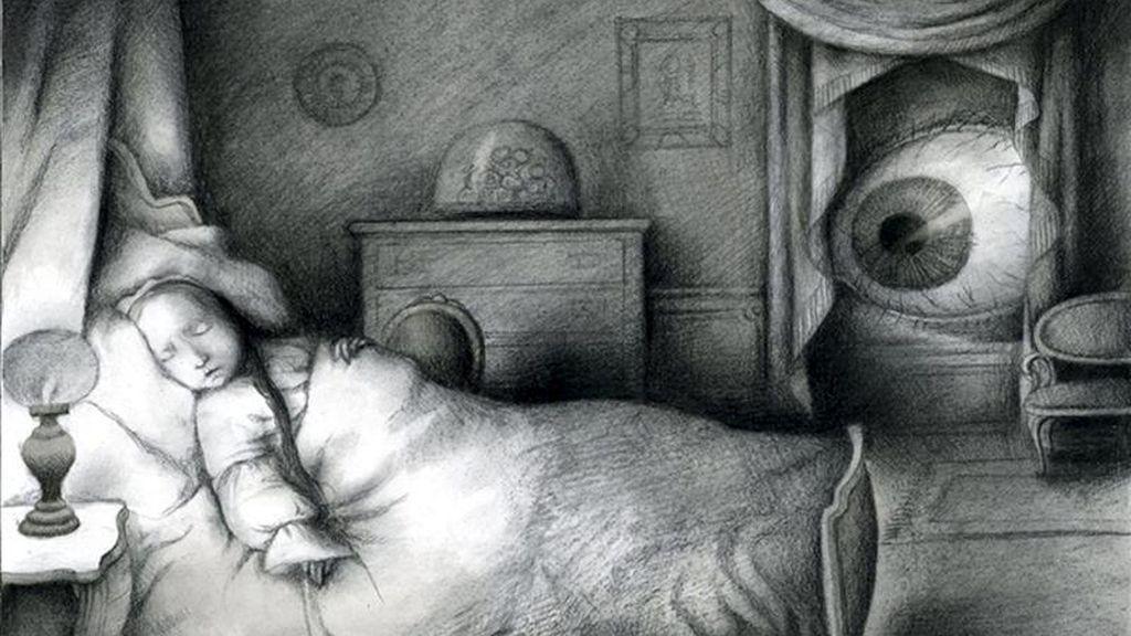 """Fotografía facilitada por Nórdica Libros de uno de los dibujos de la artista y Premio Nacional de Ilustración Ana Juan para """"Wakefield"""", uno de los cuentos más simbólicos del escritor estadounidense Nathaniel Hawthorne, autor de """"La letra escarlata"""", que acaba de ser reeditado con motivo del aniversario de la citada editorial. EFE"""