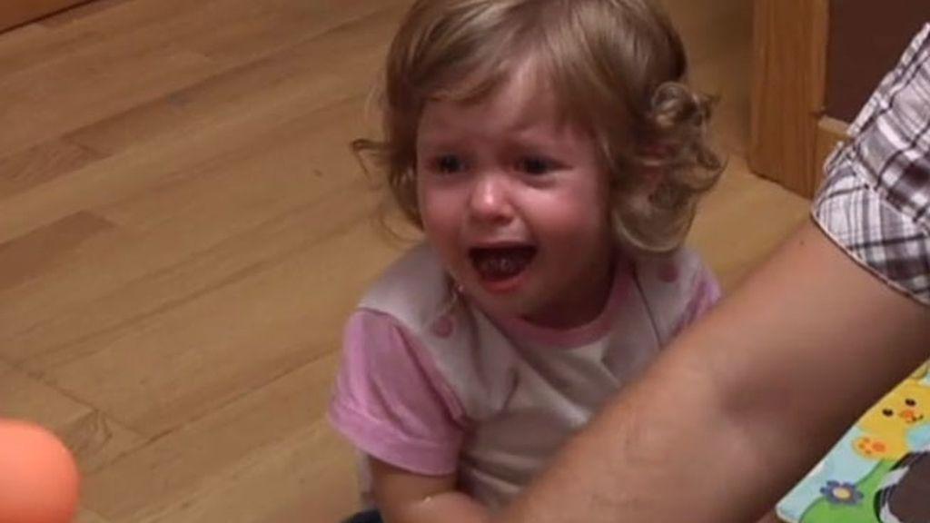 Adriana, la pequeña reina del berrinche