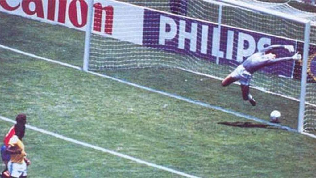 Gol fantasma de Michel (México 1986)