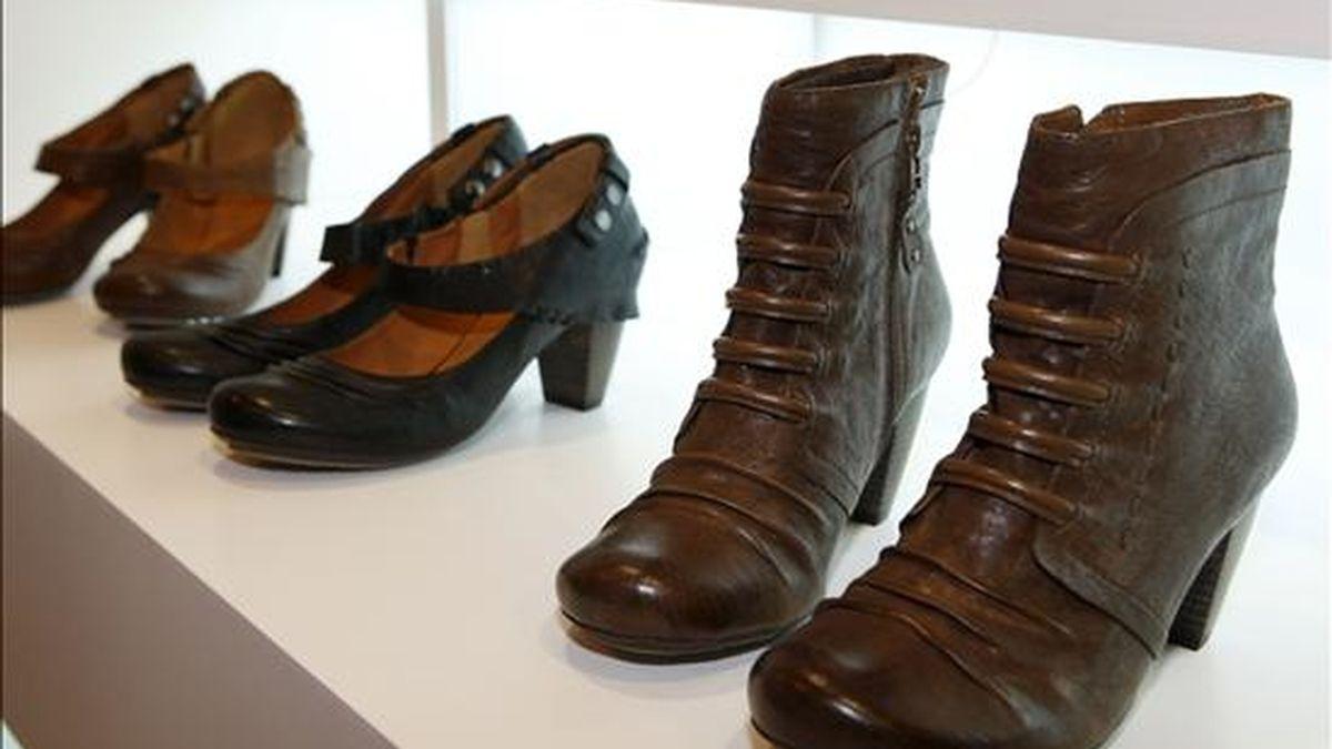 """Imagen del Salón Internacional de Calzado y Artículos de Piel """"Modacalzado+Iberpiel"""". EFE/Archivo"""