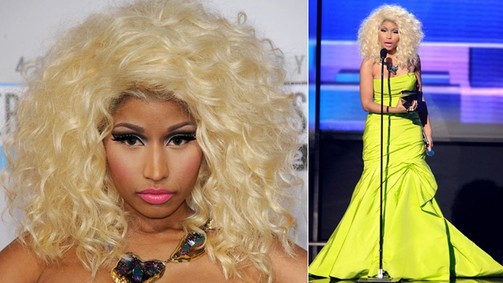 La cantante de las curvas sinuosas, Nicki Minaj, es la quinta en la lista