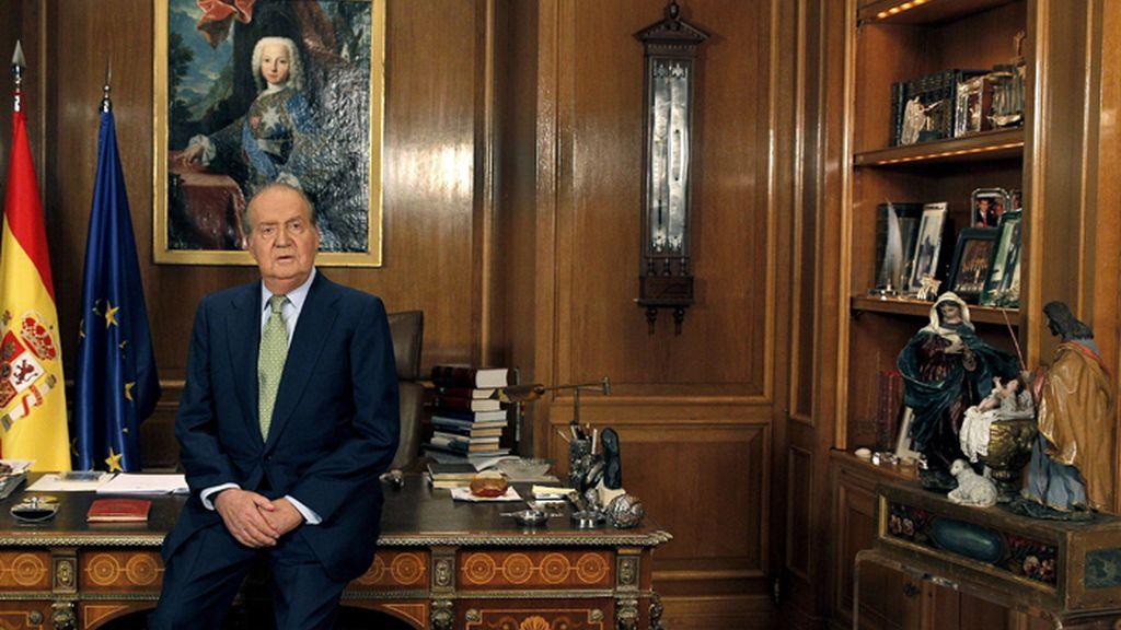 El Rey se dirige a los españoles en su tradicional mensaje de Navidad