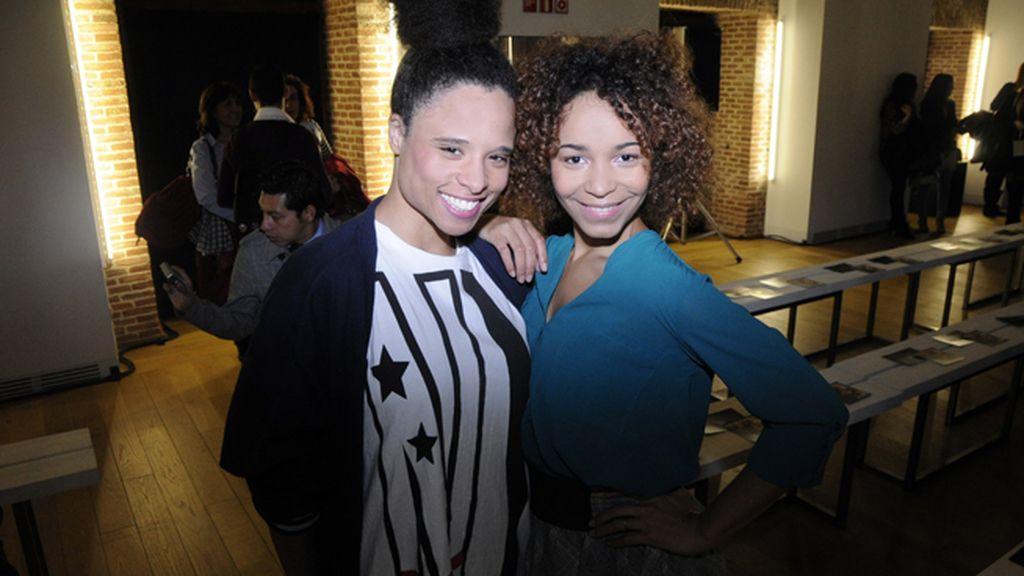 Lesley Salazar y Montse Pla