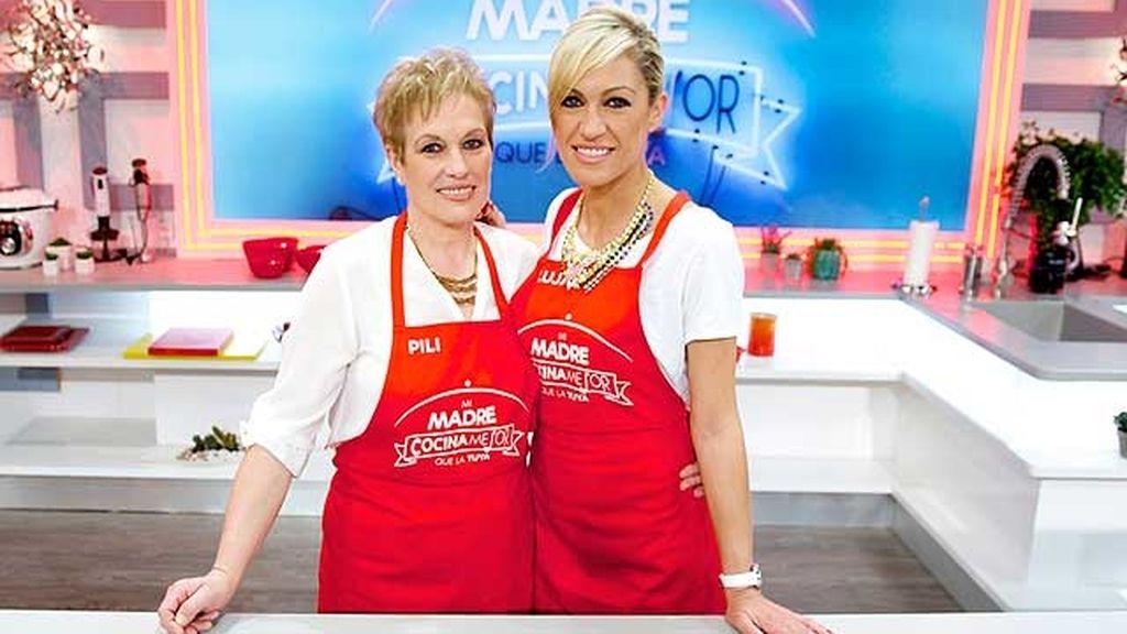 Las madres de los presentadores les explicarán cómo preparar la receta
