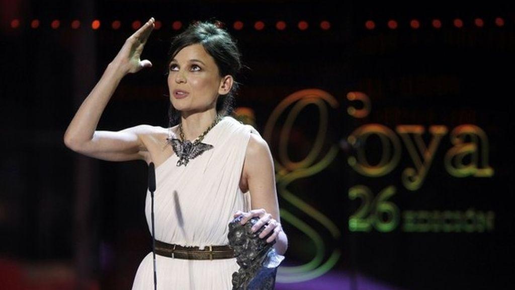 Elena Anaya, ganadora del Goya a la mejor actriz