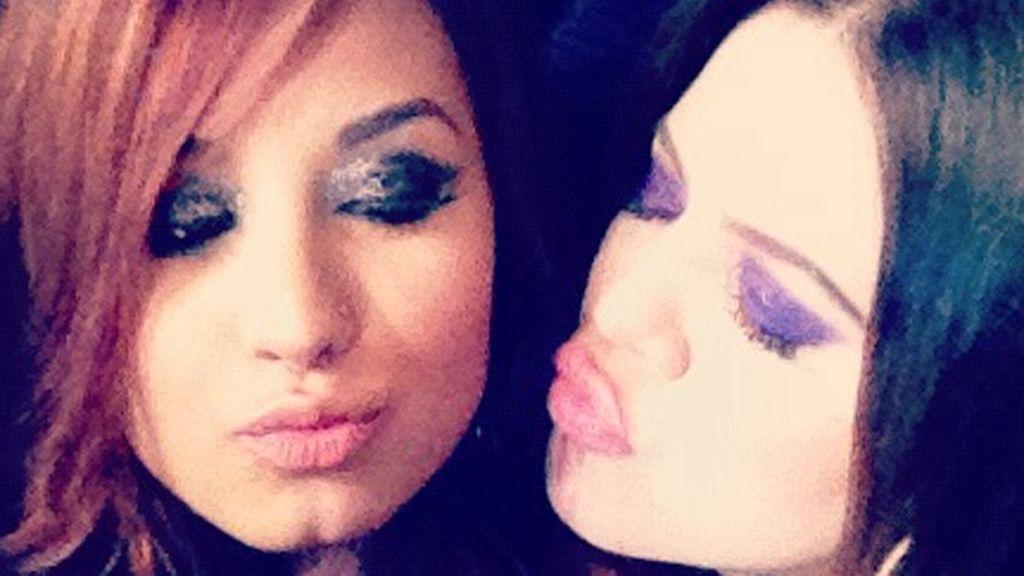 Khloe Kardashian en el Twitter de Demi Lovato