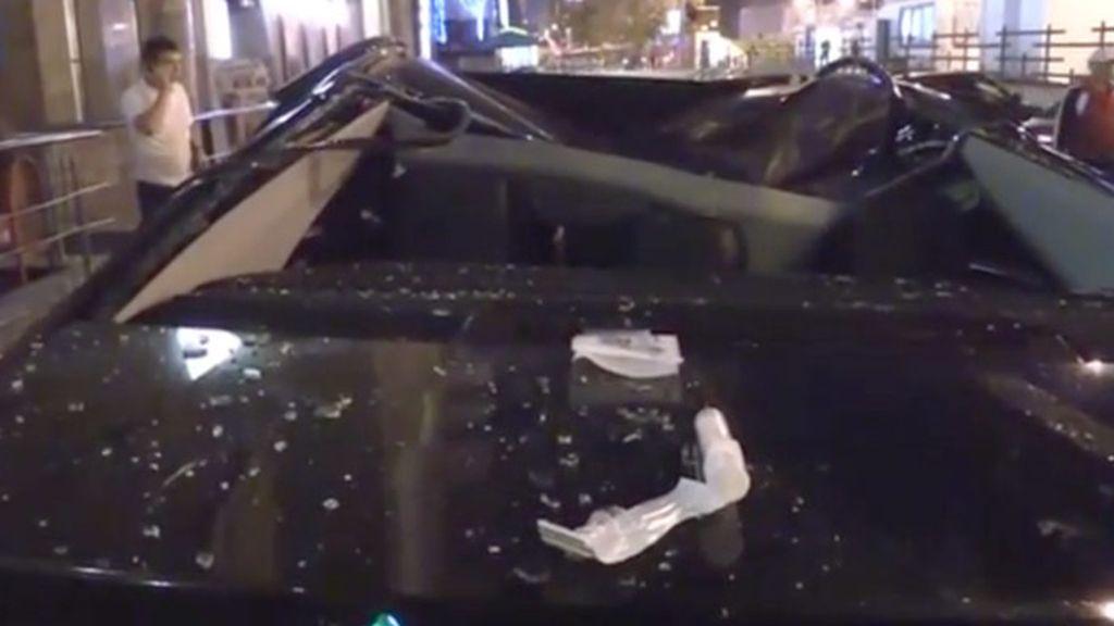 Una mujer se tira desde el piso 13 por un desamor y consigue sobrevivir