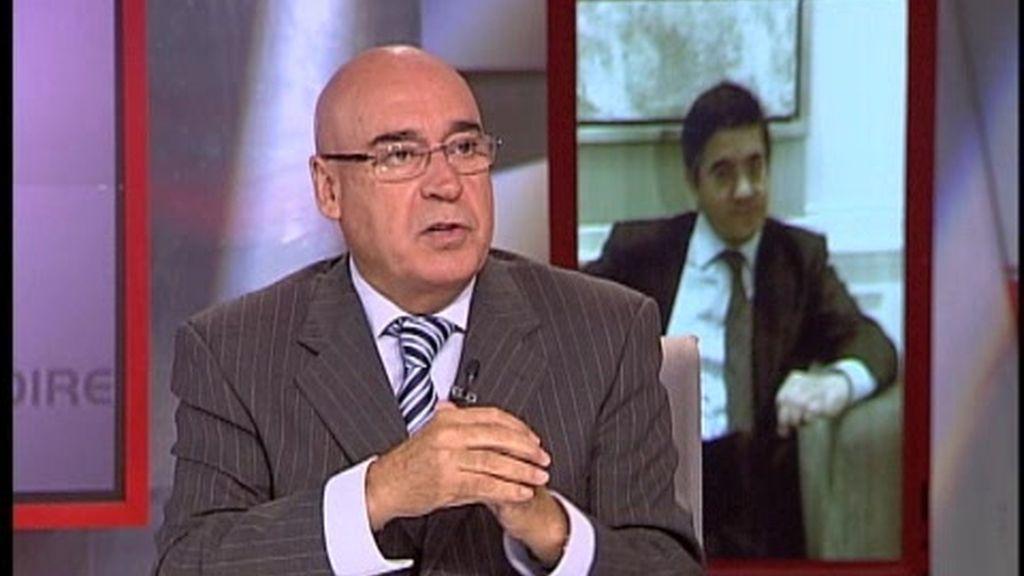"""Javier Rojo visita """"La mañana en directo"""" de CNN+"""
