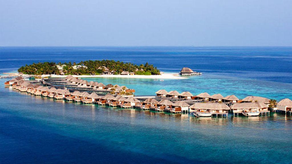 Pasar una noche en una cabaña sobre el agua, en Islas Maldivas