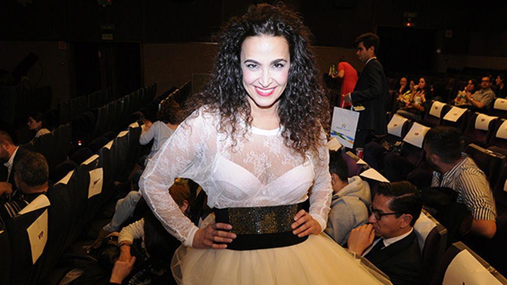 Cristina Rodríguez deslumbró con su espectacular look a lo Madonna