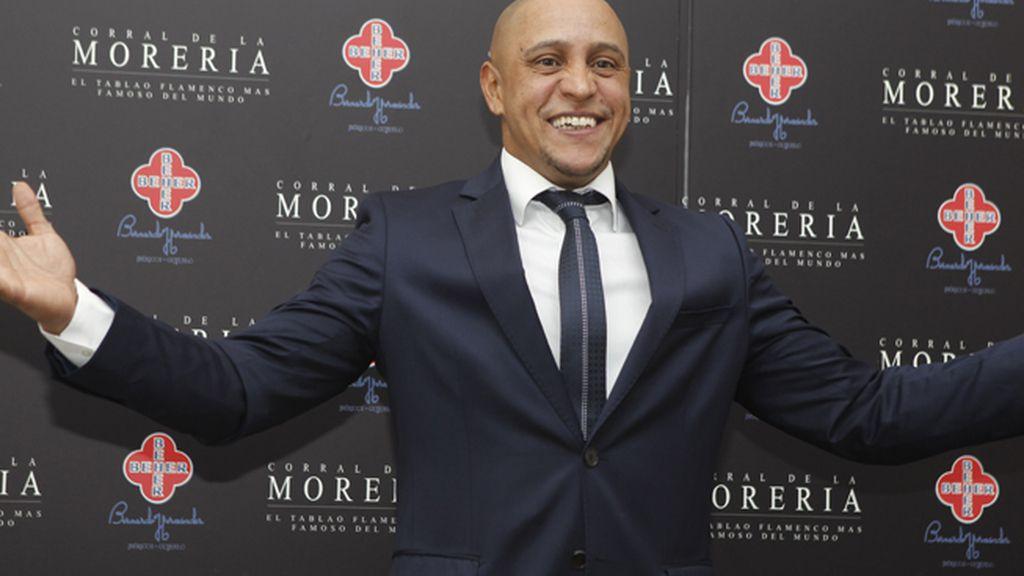 El futbolista Roberto Carlos también ha acudido a la gala