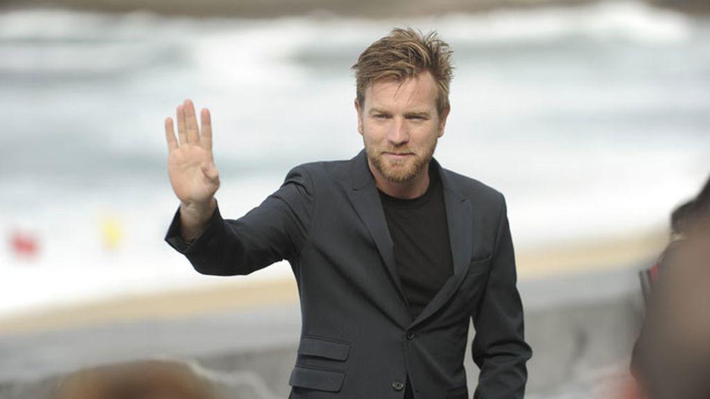 Ewan McGregor llega al Festival de San Sebastián
