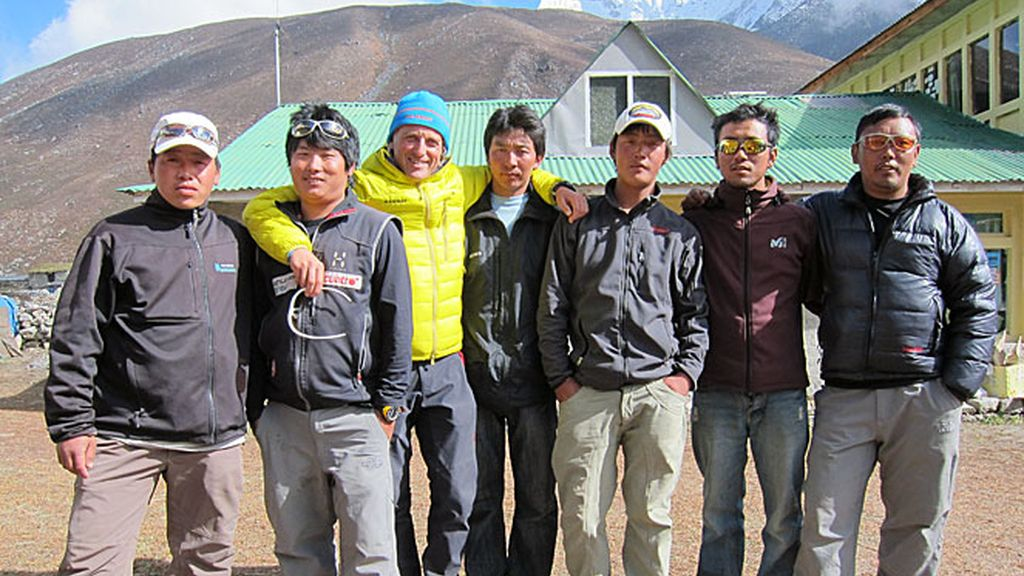 Los sherpas de 'Desafío Everest'