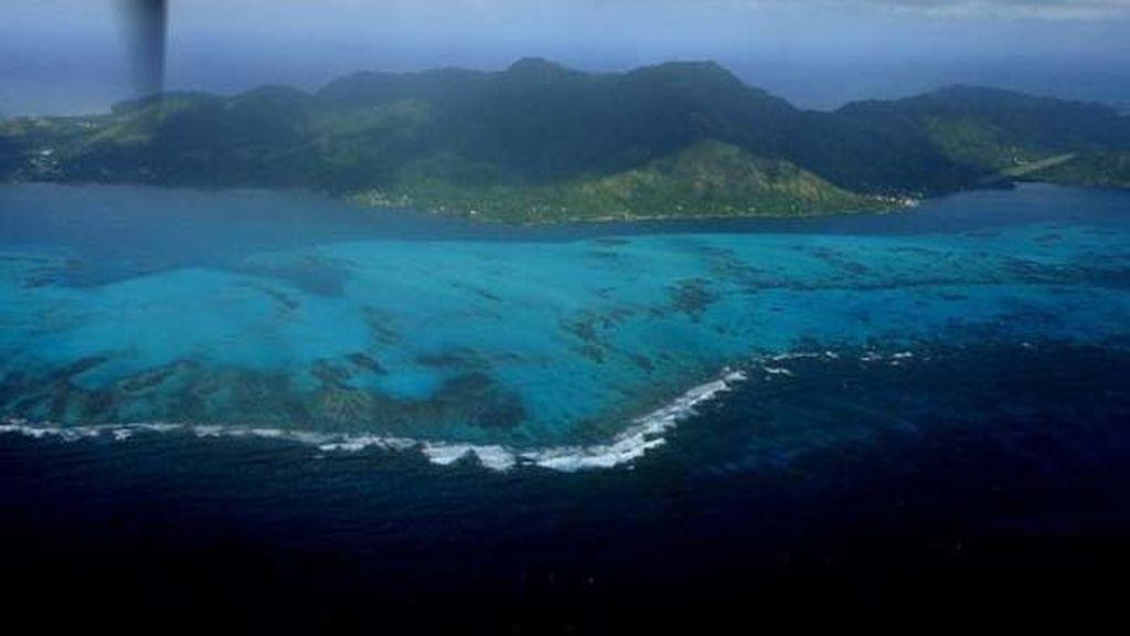 Isla, imagen de archivo