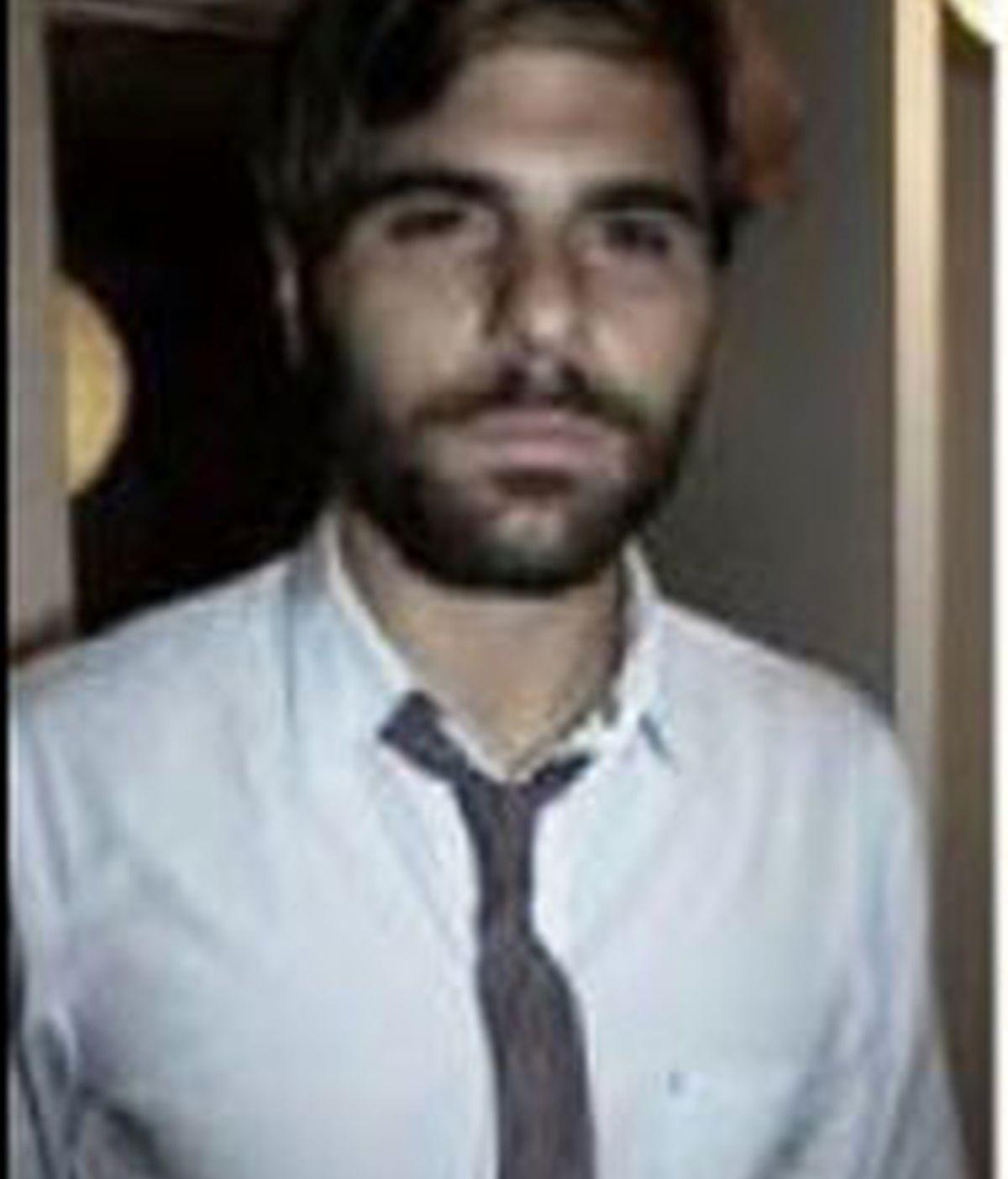 Alexander Kandiloros, en la imagen con la que acompañó el anuncio de la subasta. Foto: The Local