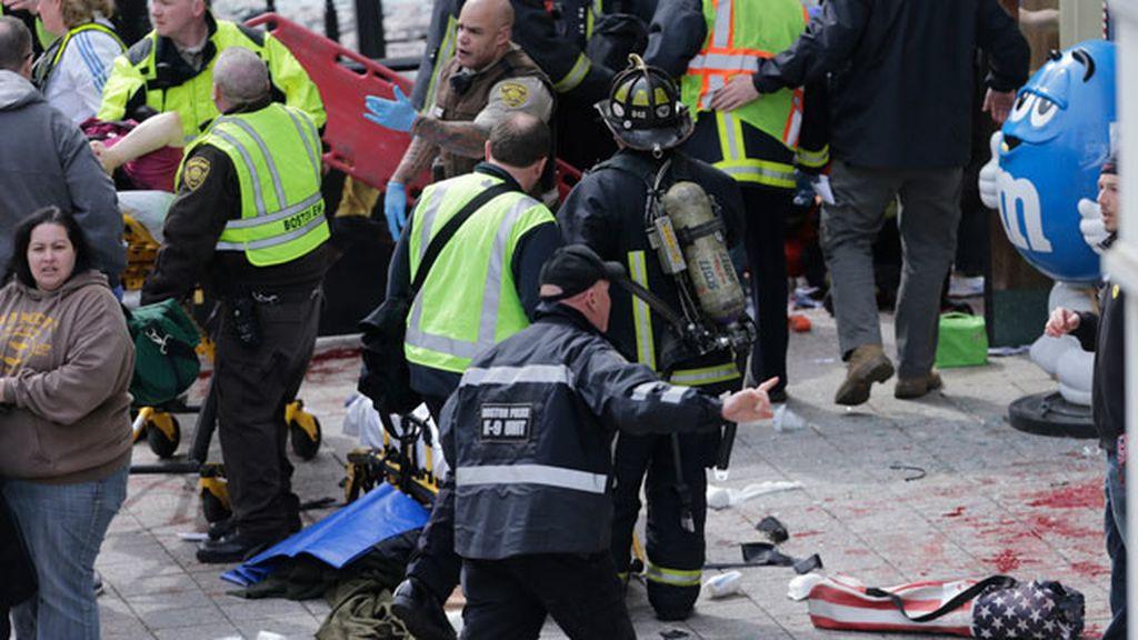 Se registran dos explosiones en la meta del maratón de Boston