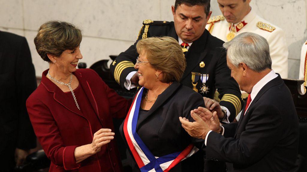 Ceremonia de investidura de Michelle Bachellet