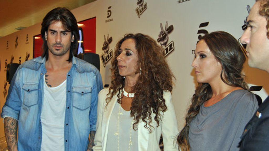 David Bisbal, Rosario Flores, Melendi y Malú, preparados para 'La Voz'
