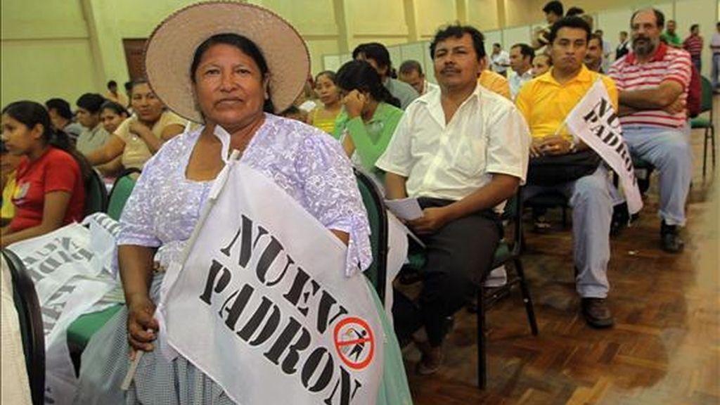 """El Consejo Nacional Democrático pretende consolidarse como un """"frente amplio"""" con la participación de la oposición para hacer frente al presidente del país, Evo Morales, en las elecciones generales del próximo 6 de diciembre. EFE"""