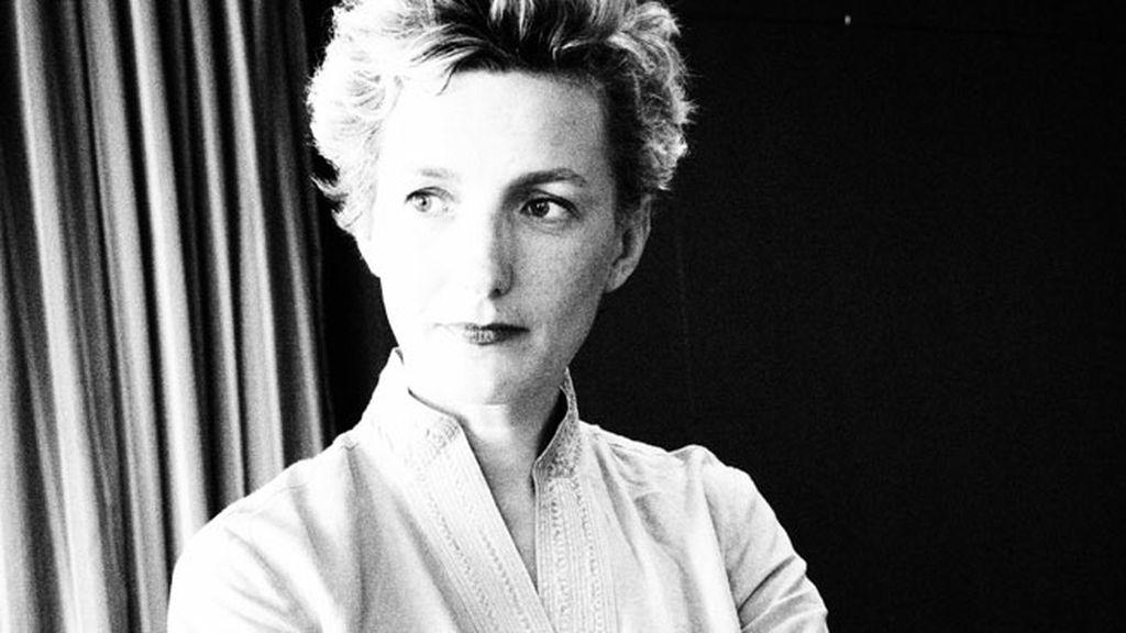 Anna Gavalda, en blanco y negro