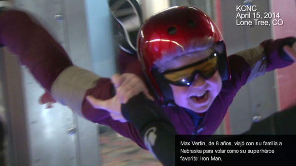 Max Vertin consigue volar como Iron Man