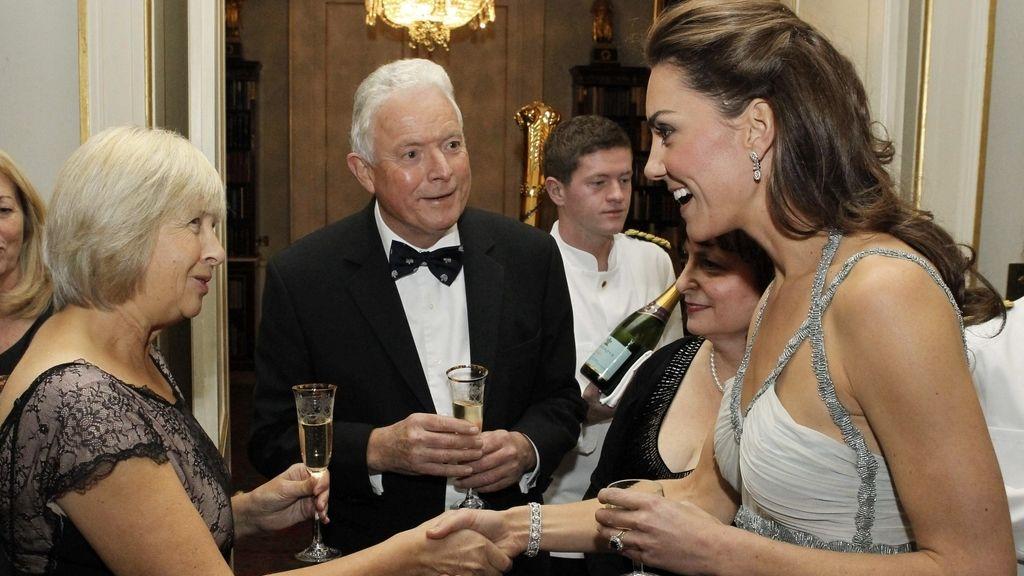 Kate Middleton en la cena benéfica
