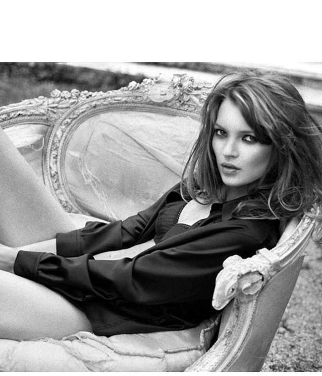 Kate Moss, quién da más