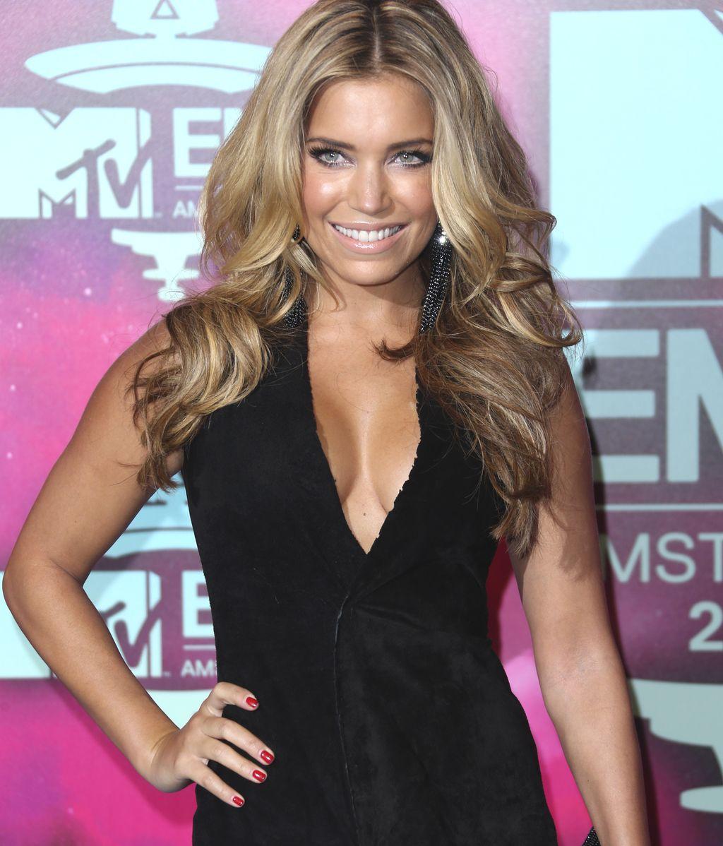 Sylvie Meis, a su llegada a los MTV EMA