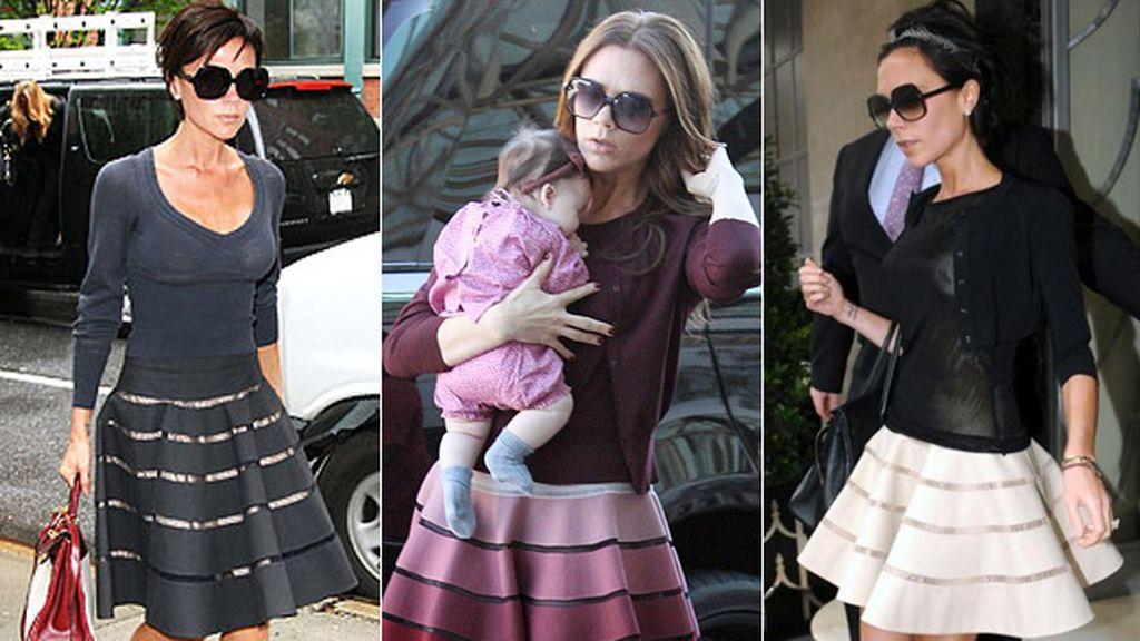 Victoria Beckham es una fan incondicional de los diseños de Azzedine Alaia