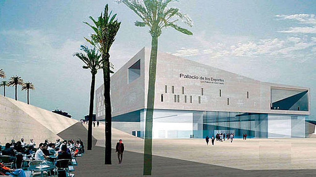 Las Palmas de Gran Canaria - Palacio de los Deportes
