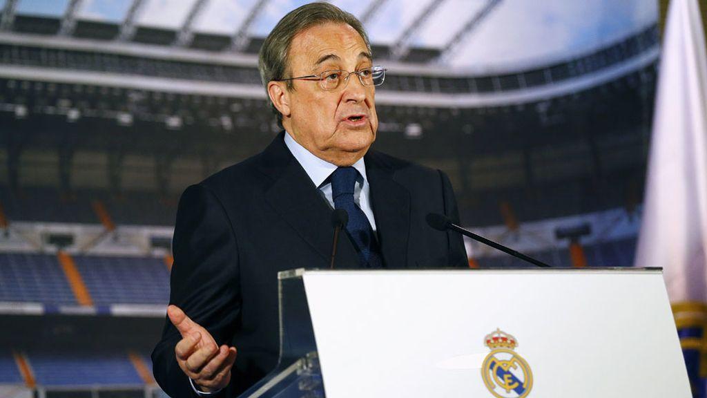Presidente del Real Madrid,Florentino Pérez