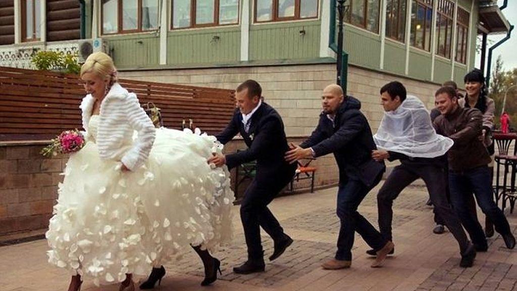 Las peores fotos de boda
